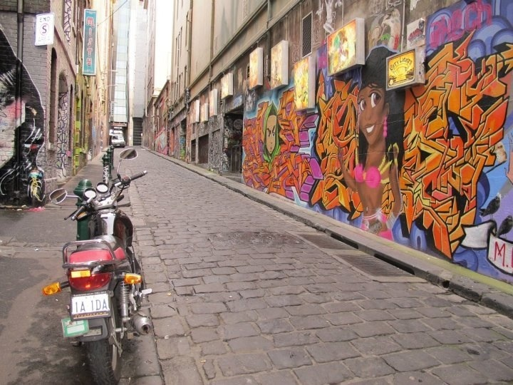 Streets of Melbourne & once a local at Misty bar