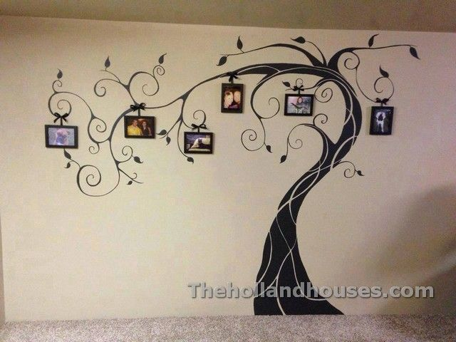 Family Tree Wall Art Ideas