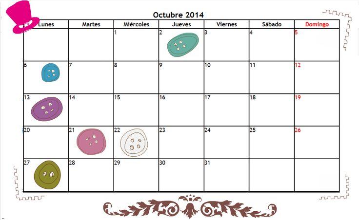 Sonrisas en cuarentena: Calendario de series: Octubre 2014.