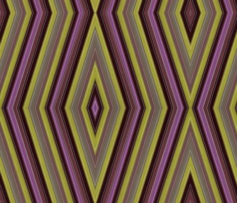 purple-green-stripe fabric by myfavoritebug on Spoonflower - custom fabric