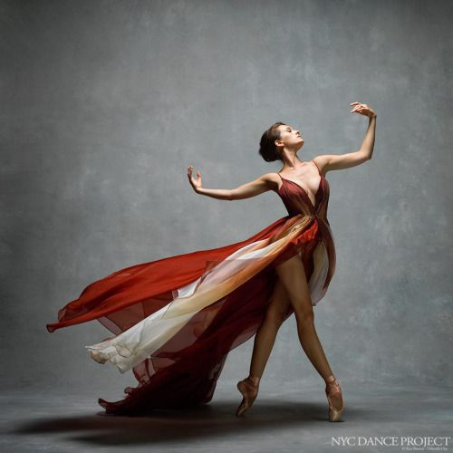Lauren Lovette, Principal dancer with New York City BalletDress by Leanne Marshall. Hair and makeup by Gisele Karounis.