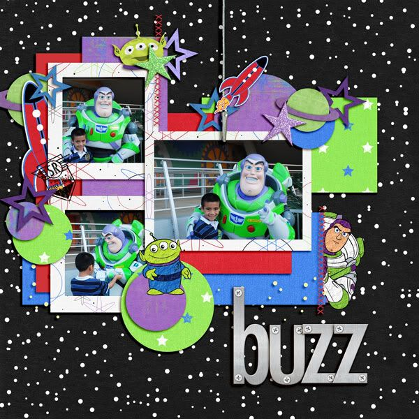 Buzz Light Year - must catch him!