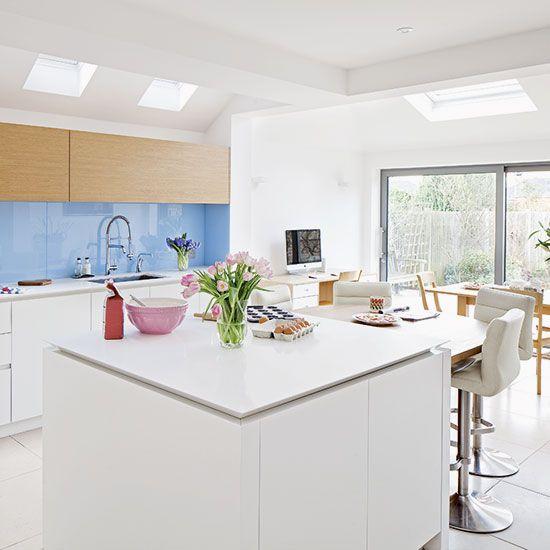 Modern Kitchen Tiles 7 Beautiful Kitchen Backsplash Designs: Best 20+ Blue Backsplash Ideas On Pinterest