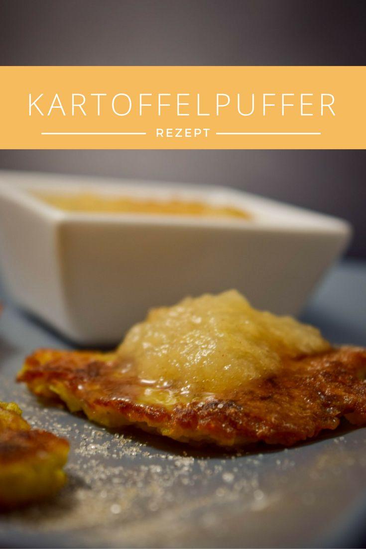 Kartoffelpuffer mit Apfelmus, Essen wir bei Mama - Erinnerungen an die Kindheit, super lecker & einfach