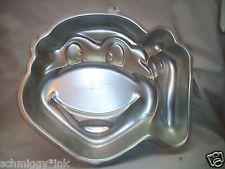 WILTON TEENAGE MUTANT NINJA TURTLE CAKE PAN MOLD 1991 #2105-4436 TMNT NICE
