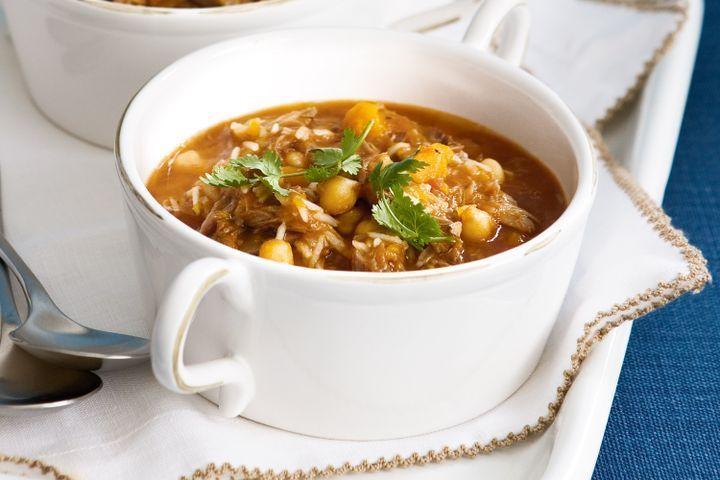 Lamb and pumpkin soup