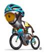 cycling-road mascot London 2012