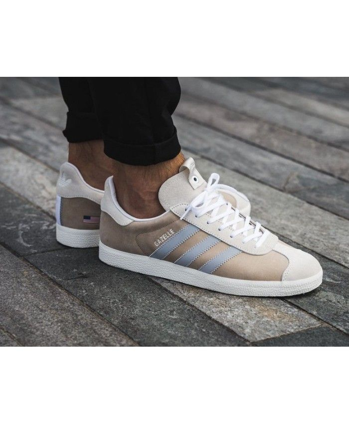 new products e7114 33ed3 Adidas Gazelle Alife x Starcow x White Grey Blue Mens Trainers