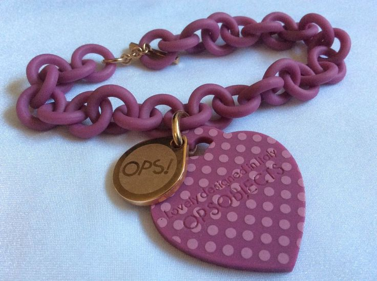 Ops Objects Lovely Designed in Italy Opsi Love Collection Bracelet Color Purple | eBay