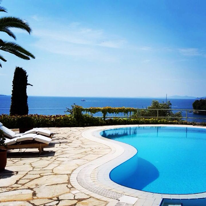 My home in Corfu, Kalami beach