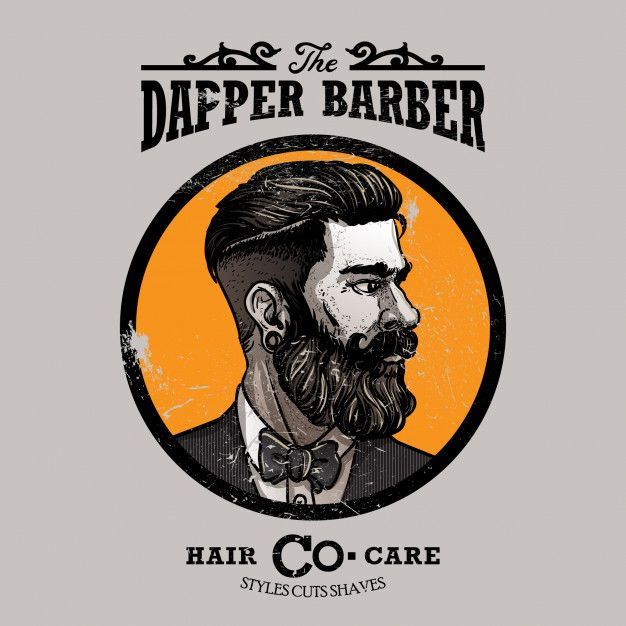 Barbershop Logo Template Premium Vector Premium Vector Freepik Vector Logo Business Vintage Icon Barbershop Logo Logo Templates Logo Barbershop