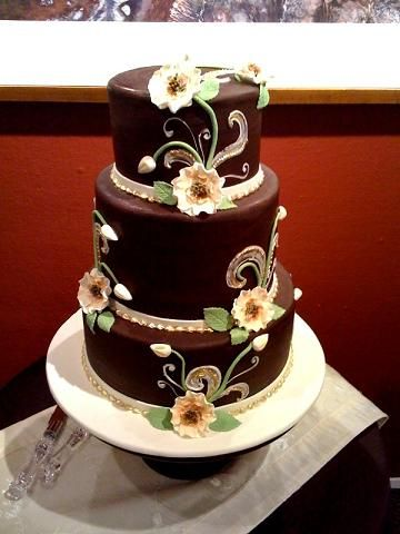 best wedding cake denver 17 best ideas about brown wedding cakes on 11439