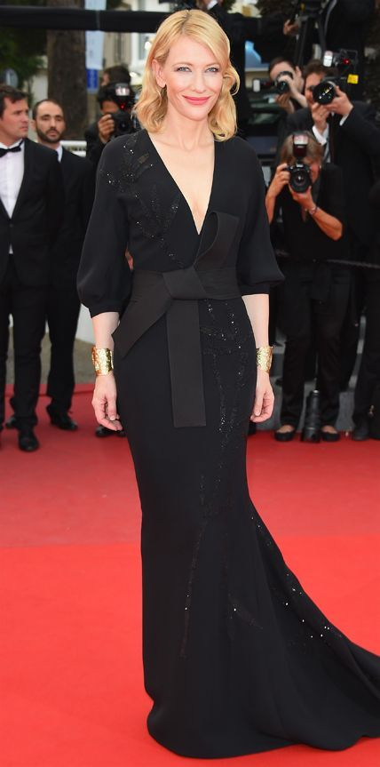 Cate Blanchett at Cannes film festival, 2015.
