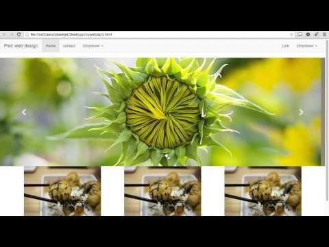EP.4 slide web, สไลด์หน้าเว็บ, JQuery Slide by Bootstrap, สอนทำเว็บฟรี,B...