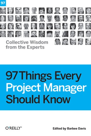 97 Things Every Project Manager Should Know iPhone and iPad app by O'Reilly Media, Inc.. Genre: Book application. Price: $6.99. http://click.linksynergy.com/fs-bin/stat?id=gtf1QuAg8bk=146261=3=0=1826_PARM1=http%3A%2F%2Fitunes.apple.com%2Fapp%2F97-things-every-project-manager%2Fid329890555%3Fuo%3D5%26partnerId%3D30