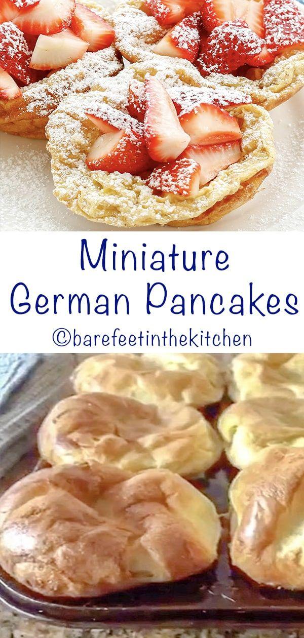 Miniature German Pancakes Recipe with step-by-step photos