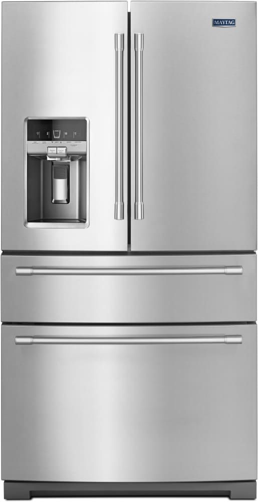 Lowest price on Maytag MFX2676FRZ 26.0 Cu. Ft. Fingerprint Resistant Stainless Steel French Door Refrigerator. Shop today!