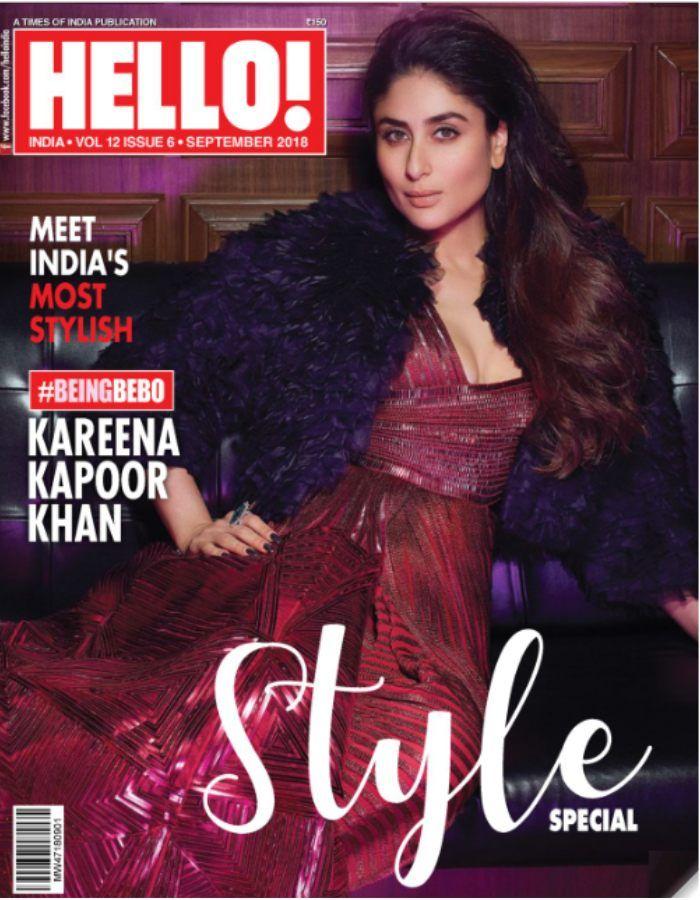 kareenakapoorkhan slays on the cover of hello! india latestly