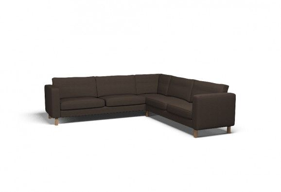 Cover for #IKEA #KARLSTAD Corner sofa 2+3/3+2 - Vincent Brown | @covercouch