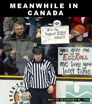 "Canadians are clever with signs-Best ""meanwhile in Canada"" memes"