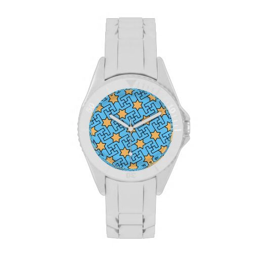 Islamic geometric pattern watches