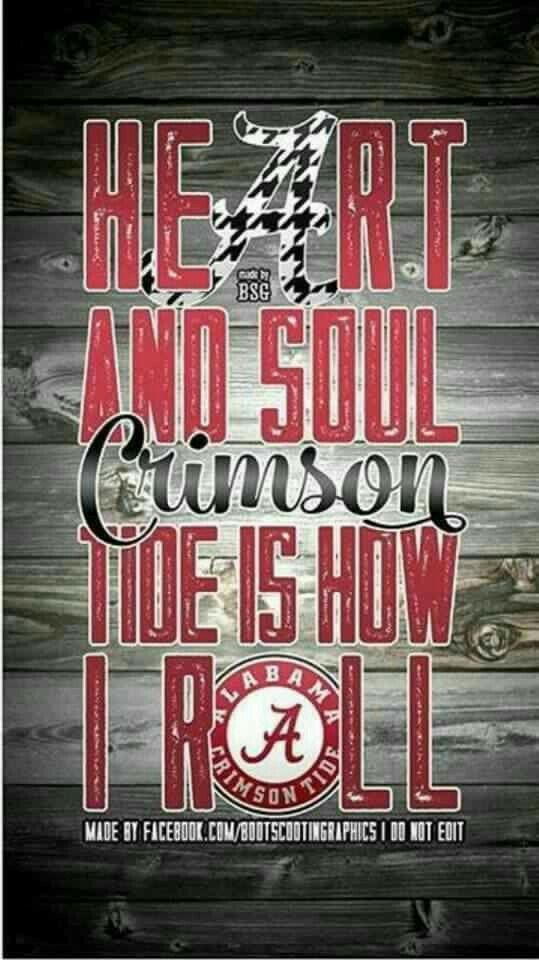 Crimson Tide Is How I Roll                                                                                                                                                                                 More
