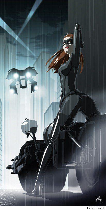 Catwoman - The Dark Knight Rises.