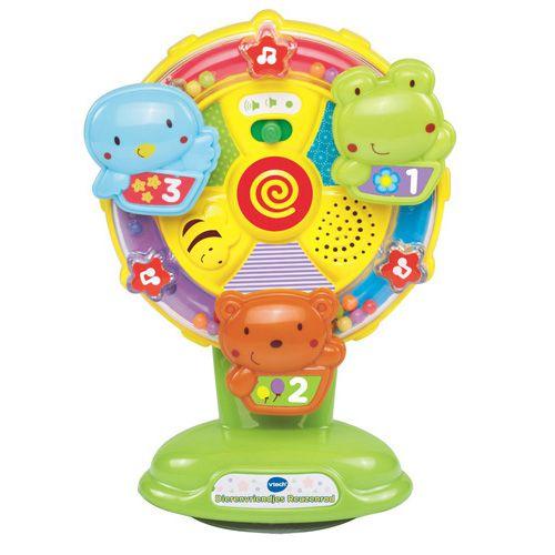 Vtech dierenvriendjes reuzenrad - Baby- & Peuterspeelgoed. Goedkoop speelgoed kopen?  Bestel online op onze officiële website of ga naar een van de TOP 1 TOYS winkels voor het grootste assortiment goedkoop speelgoed. - 405-6592