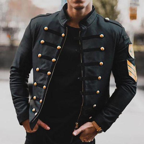 Men's Winter Black Zip Jacket – Paul Hollstein