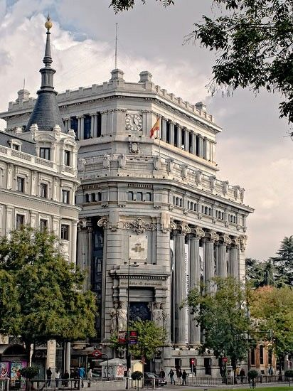 Instituto Cervantes, anterior sede del Banco Central. Madrid