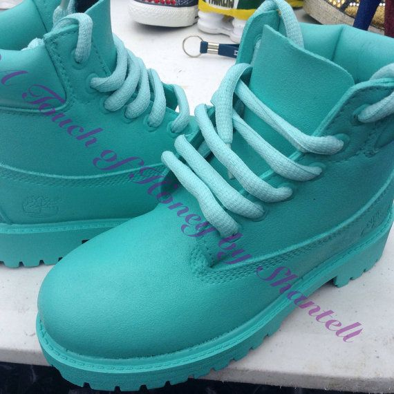 Custom Painted Timberland Boots for Women and Kids by TouchoHoney