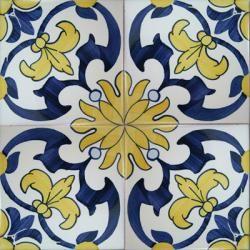 Spanish decorative tiles wall floor ceramic tile azulejo for Decorative spanish tile