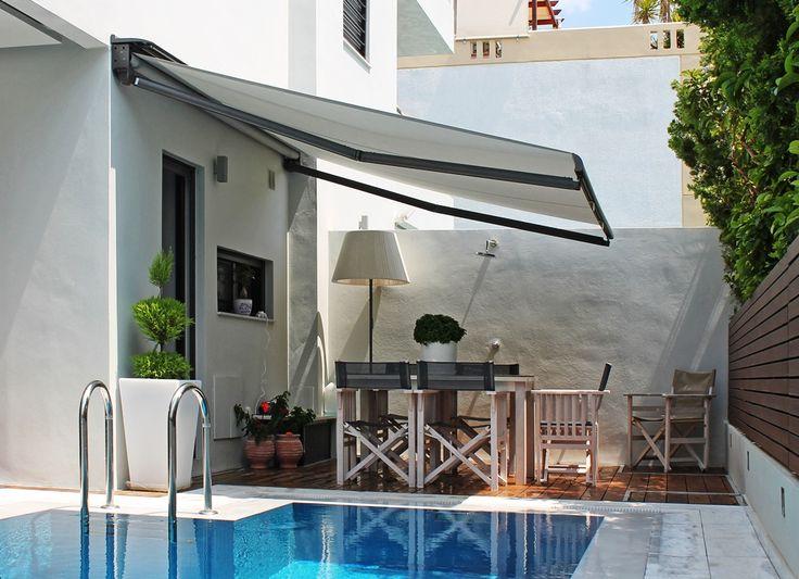 Jardin piscina contemporaneo decoracion via for Muebles para piscina
