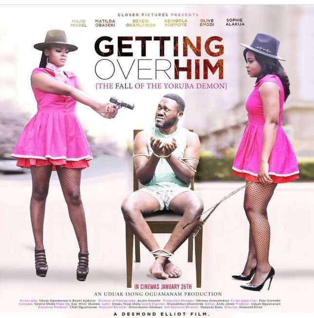 """5 Nollywood movies you should see this January """"Getting Over Him"""" and four other Nollywood movies you should see in the cinema this January.  January has quite a number of exciting new Nollywood movies to offer film lovers.  Pulse Movies has rounded up movies coming to the cinemas in January 2018 including""""Esohe""""and""""The Blind Spot.""""  Check out five Nollywood movies you should see in January.  1. """"The Blind Spot""""  play   StarringFemi JacobsandRita Dominicthe movie tells the story of a young…"""