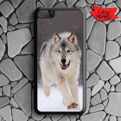 Wolf Run On White Snow iPhone 5C Black Case