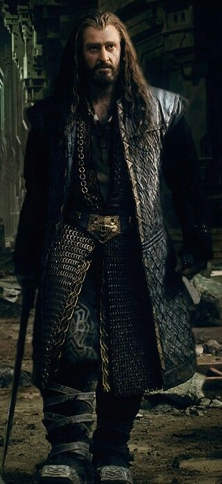 Richard as Thorin Oakenshield in The Hobbit Trilogies