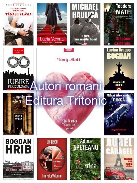 Autori romani-Editura Tritonic