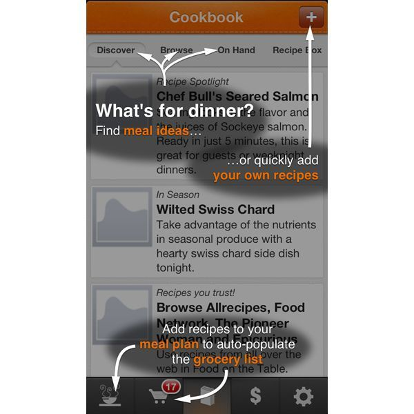 Food on the Table, Best Meal-Planning Apps and Sites