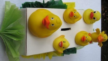 Duck family money box