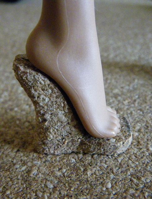 Fashion Doll Shoes: Cork soles for Monster High doll shoes