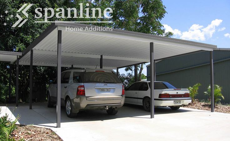 Create a practical, useable space with a Spanline Carport or Shelter.  Our range of colours and designs will help you create the perfect finished product, to suit you and your lifestyle.