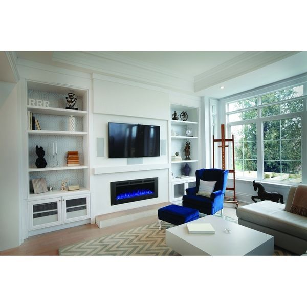 Napoleon Allure Phantom 50 Inch Wall Mount Electric Fireplace With