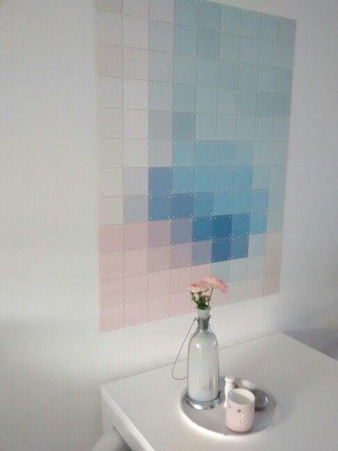 Onze nieuwe IXXI-design..love it! Pastel # Artwork