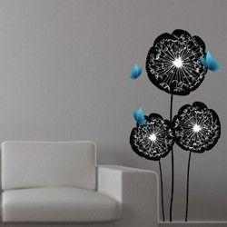 Πεταλούδες Και Λουλούδια,  αυτοκόλλητο τοίχου,19,40 €,https://www.stickit.gr/index.php?id_product=492&controller=product