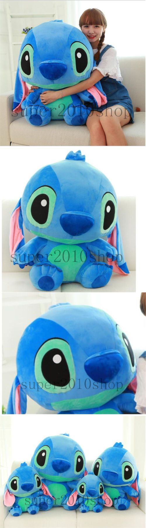 Lilo and Stitch 44035: 32 Giant Hung Big Lilo And Stitch Huge Soft Stuffed Plush Toy Doll Valentine Gift -> BUY IT NOW ONLY: $78.88 on eBay!