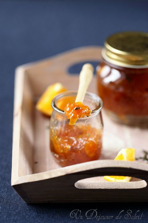 Un dejeuner de soleil: Marmelade d'oranges