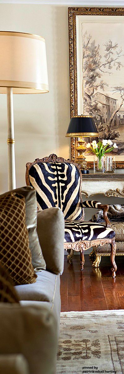 Love The Zebra Chair.