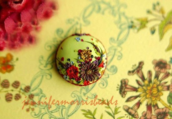 polymer: Polymer Inspiration, Polymerclay, Clay Inspiration, Polymer Clay, Inspiration Pendants Beautiful, Embroidery Inspiration, Vintage Inspiration, Photo, Vintage Embroidery