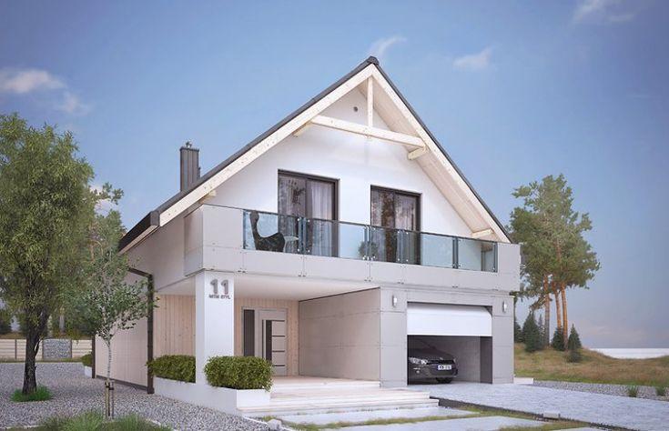 Projekt domu jednorodzinnego Amarylis 4