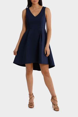 Wayne Cooper Events Fit And Flare High Low Dress Myer Online